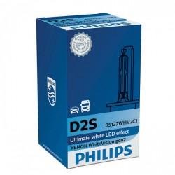 Philips D2s WhiteVision Gen2 +120% 85122WHV2 LED Lyskilder - NOK 695,00
