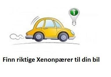 Finn riktige Xenonpærer til din bil